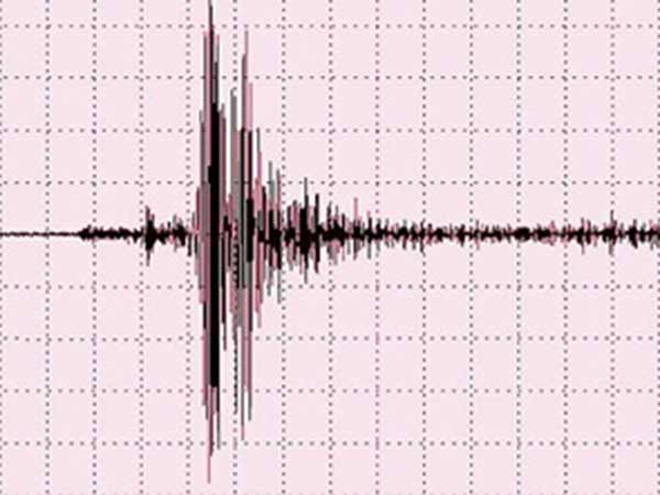 A minor earthquake was felt in Karur on Wednesday