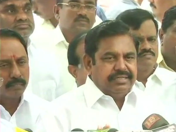 Cauvery: Edappadi Palanisamy says Karnataka can not appeal in the Supreme Court