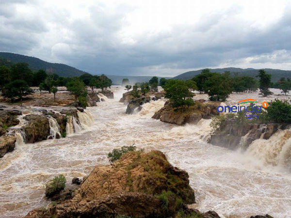 After four years Cauvery river flooding in aadipperukku festival day
