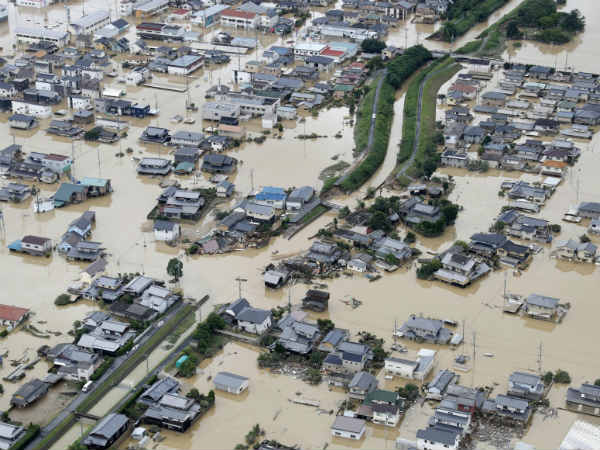 Worst Rain in Japan kills nearly 49 people, 50 people injured
