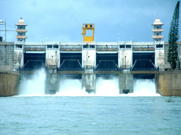 Water Flow increased in Cauvery to TN due to heavy rain Karnataka