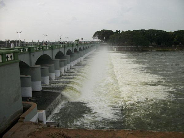 Cauvery water released from Kallanai for Agriculture usage