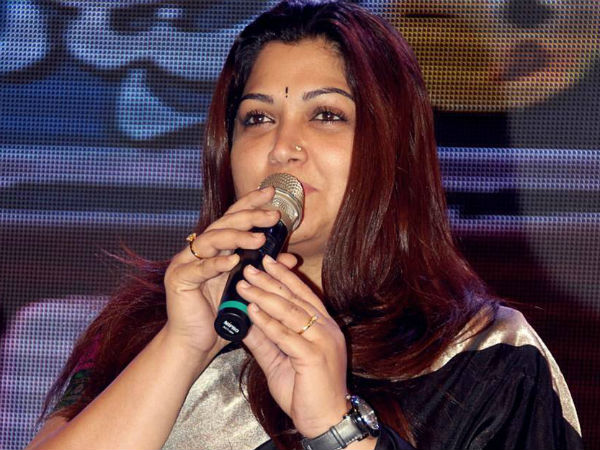 Kushboo questions Union Minister will help to ordinary people like OPS's brother