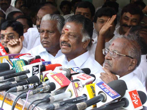 I am coming to Delhi for my own personal reasons: O.Panner Selvam