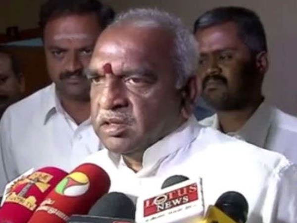 Pon.Radhakrishnan has accused dmk as the reason why 13 people died in Thoothukudi protest