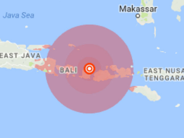 Indonesia hits by a powerful earthquake today morning