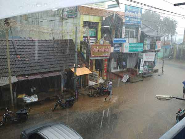 Chennai and many places in TN may hit with Heavy rain