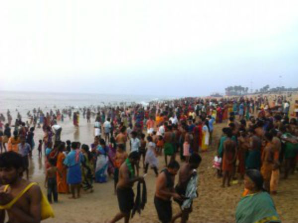 People are afraid of the sudden sea absorbed in Rameswaram