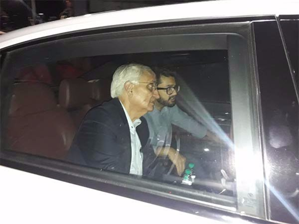 Former Central Minister Salman Kurshit visits the Kauvery hospital
