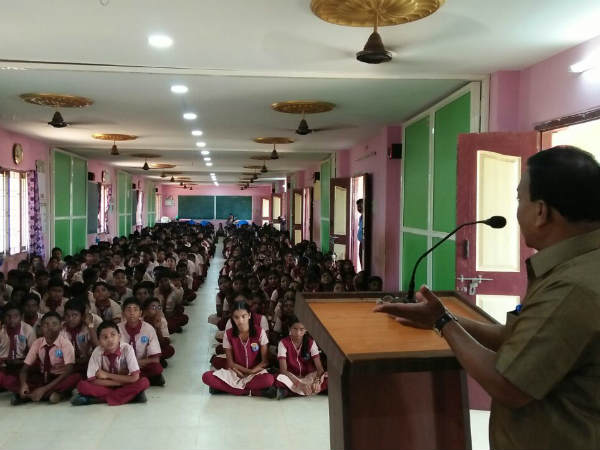 School mandrams inaugrated in Karaikudi