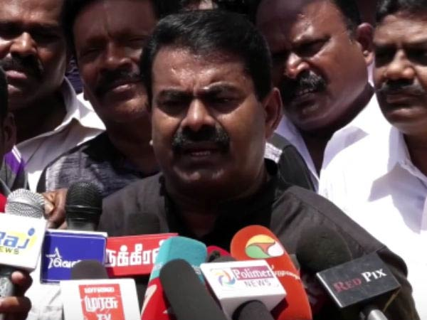 Salem court gives Conditional bail for Seeman