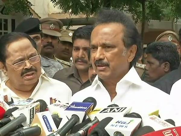 Karunanidhis health condition is improved: Stalin
