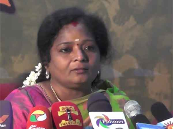 Tamilisai alleged, many statue missed in ADMK, DMK both paties government