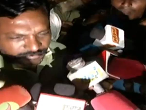 Thirumavalan visits Cauvery hospital
