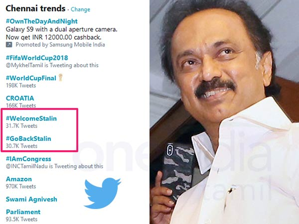 Welcome and Go back Stalin trends on twitter