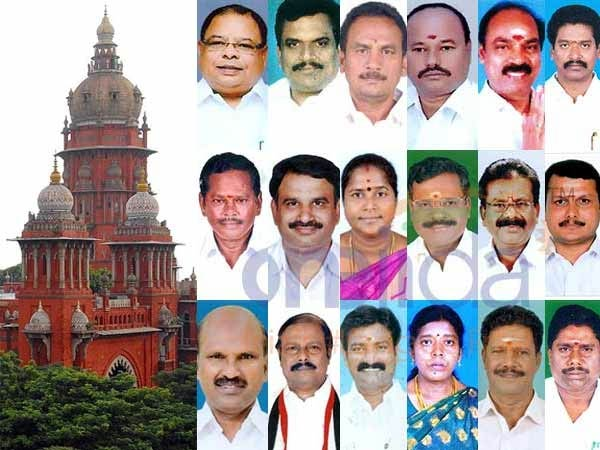 18 disqualified MLAs case hearing in final stage