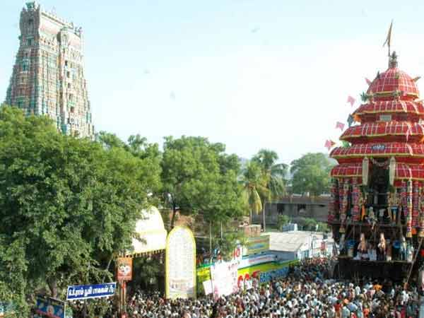 Car festival started at Srivilliputhur Andal Temple