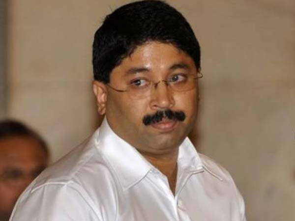 Dayanidhi Maran accusing Union Government