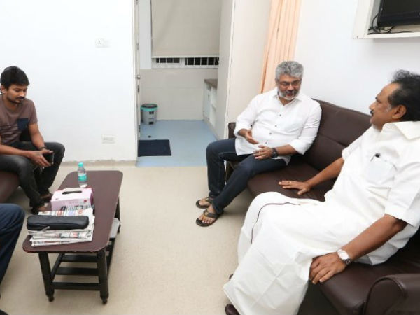 Ajith Visits Kauveruy hospital