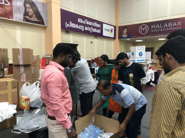 Bahrain Tamils helping for flood affected Kerala