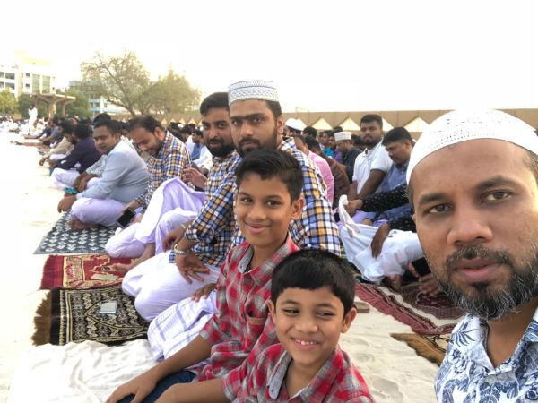 Bakrid festival Celebrated in Dubai Thera today