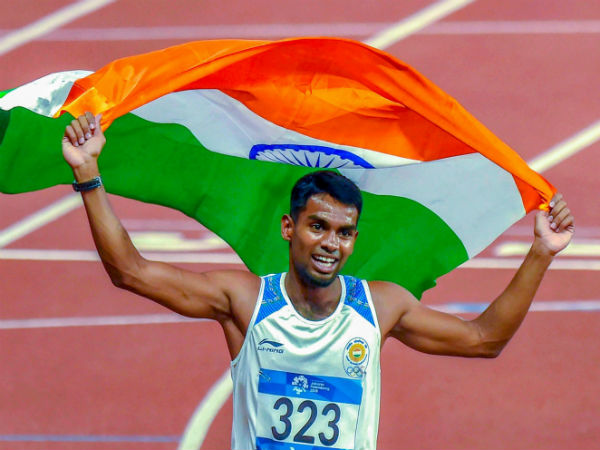 Cash prize of Rs 30 lakh to Asian Games siver medal winner from Tamilnadu Dharun Ayyasamy