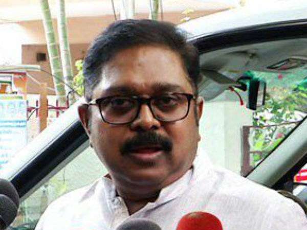 AMMK party's Deputy General Secretary TTV Dinakaran condolence to Karunanidhi's death