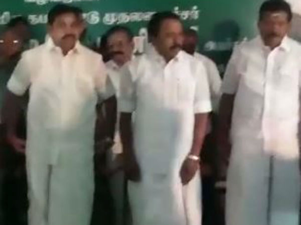 CM Edappadi Palanisamy review in Bhavani River