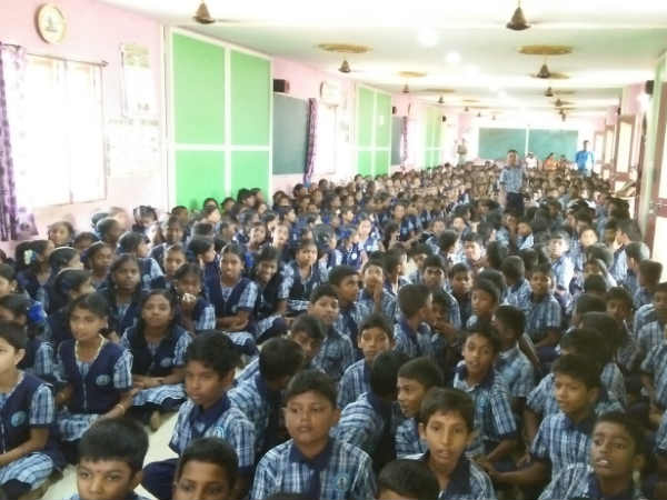 Tamilnadu government school opens primary education