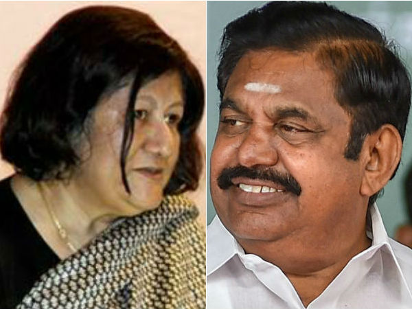 TN CM Palanisamy wishes Indira Banerjee for her elevation to SC