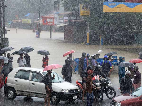 Latest heavy rain warning issued for Kerala