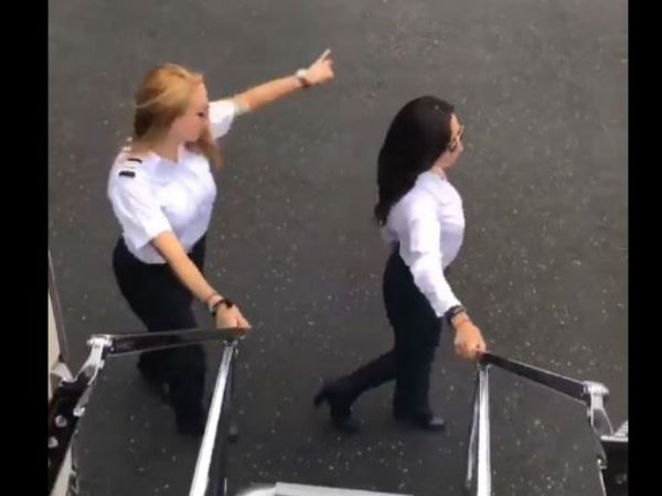 KiKi Challenge performed by pilots