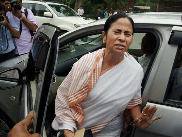 West Bengal Chief Minister Mamata Banerjee says, Our first aim is to defeat BJP