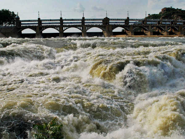 17,500 cubic feet of water released in Cauvery from Karnataka