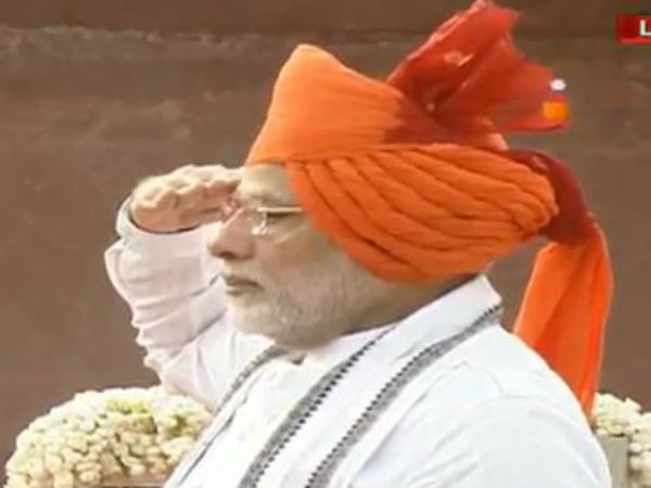 PM Narendra Modi today hoist our National Flag in Redfort