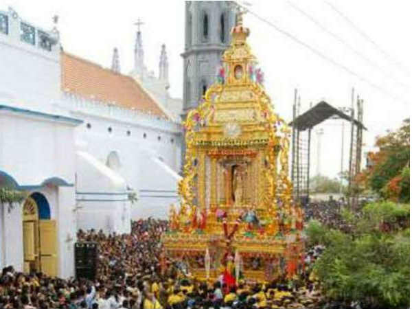 Tuticorin Panimaya Madha Church car festival