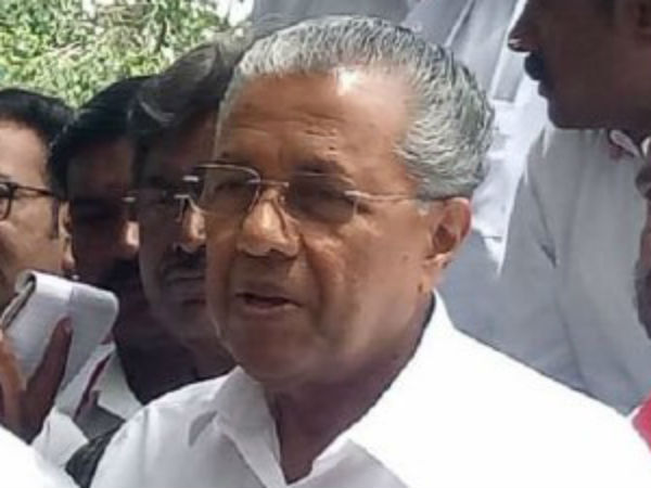 Karunanidhi is a born fighter,says Pinarayi Vijayan