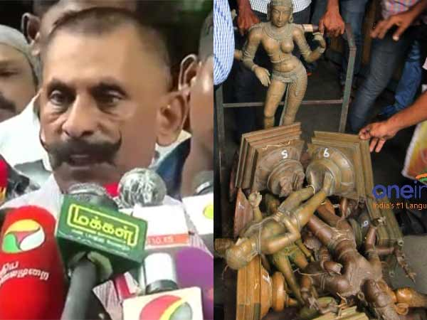 Swaminathan slam Tamilnadu government for its order to hand over Idol theft case