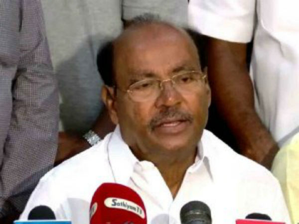 CM Palanisamy ruling develops Scam only says, PMK's Founder Ramadoss