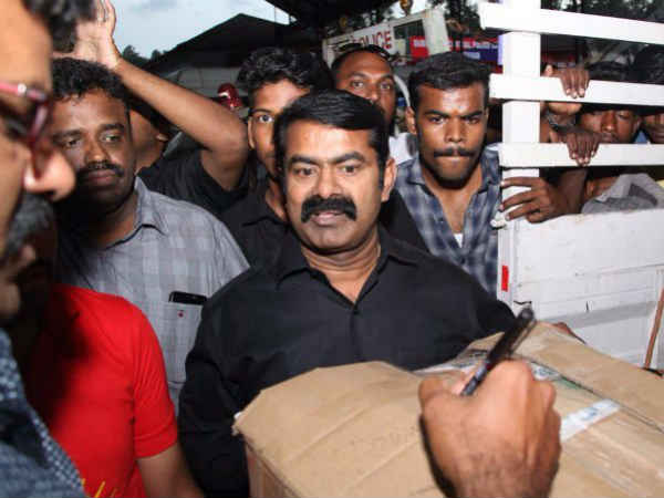 BJP is the reason behind my arrest says, Naam Thamilar Party co-ordinator Seeman