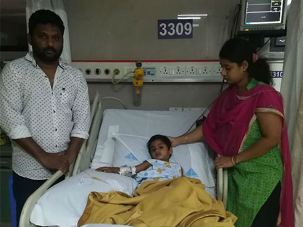 Save 3 Year Old Son Srisanth From Blood Cancer