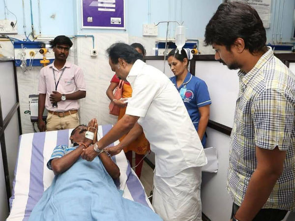 MK Stalin meets people who got wounded in Karunanidhi funeral