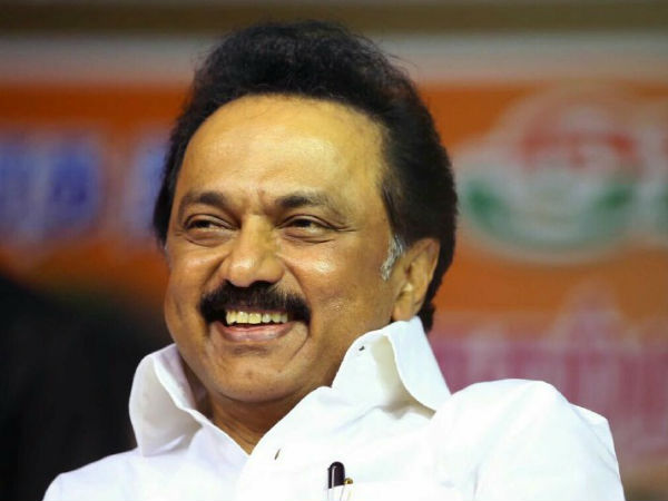 MK Stalin becomes DMK Chief anonymously