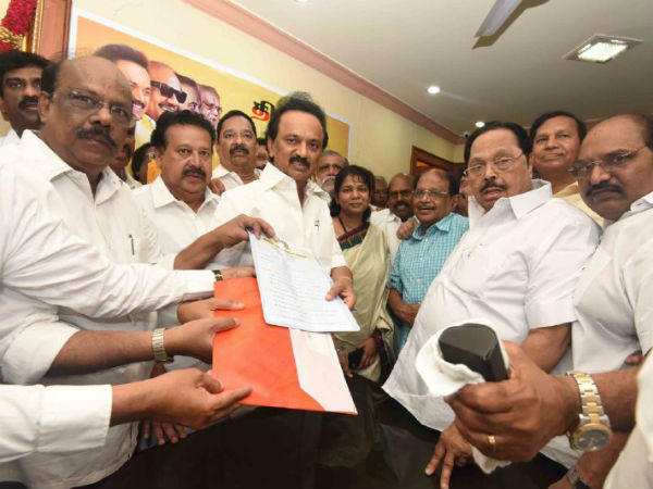 DMK Election: Duraimurugan will be elected as the treasurer of DMK unopposed