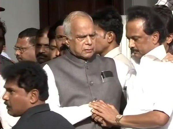 Governor spoke to Stalin and Kanimozhi for long time