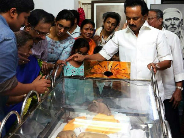 MK Stalin writes a heart whelming letter to his late father Karunanidhi