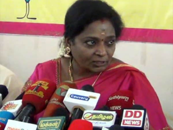 Tamilisai says Idol theft case transferred to CBI is wrong