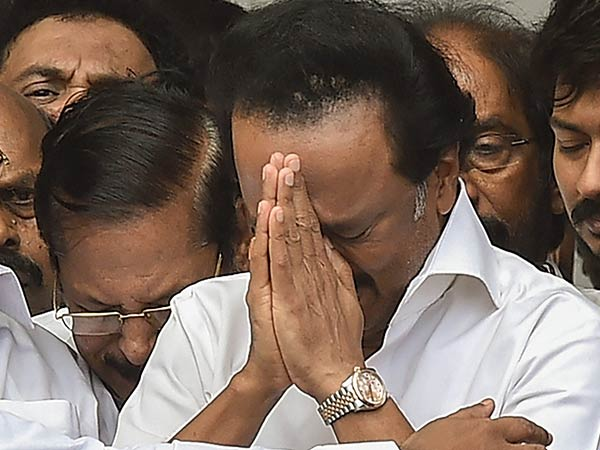 Thank you all: Says an emotional MK Stalin