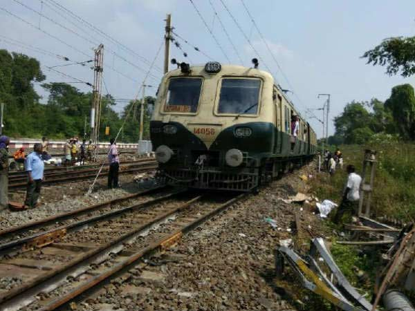 Train service affected between Tambaram and Chengalpattu as track cracked