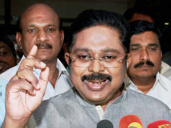 We are ready to alliance with congress in the election: TTV Dinakaran
